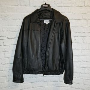 Wilson Leather Bomber Jacket